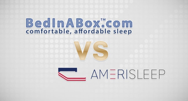 Affordable Memory Foam: BedInABox vs Amerisleep