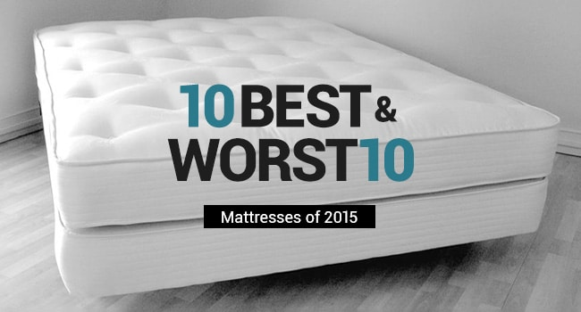 10 best mattresses of 2015 and 10 worst rated beds to avoid Top rated memory foam mattress