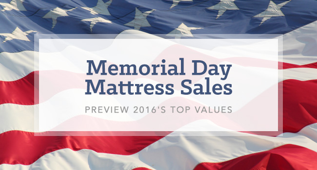 Memorial Day Mattress Sales: 2016 Preview