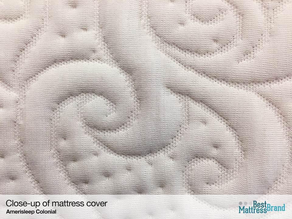 Amerisleep Colonial mattress cover close up