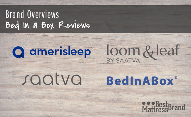 Brand Overviews: Bed In A Box Reviews