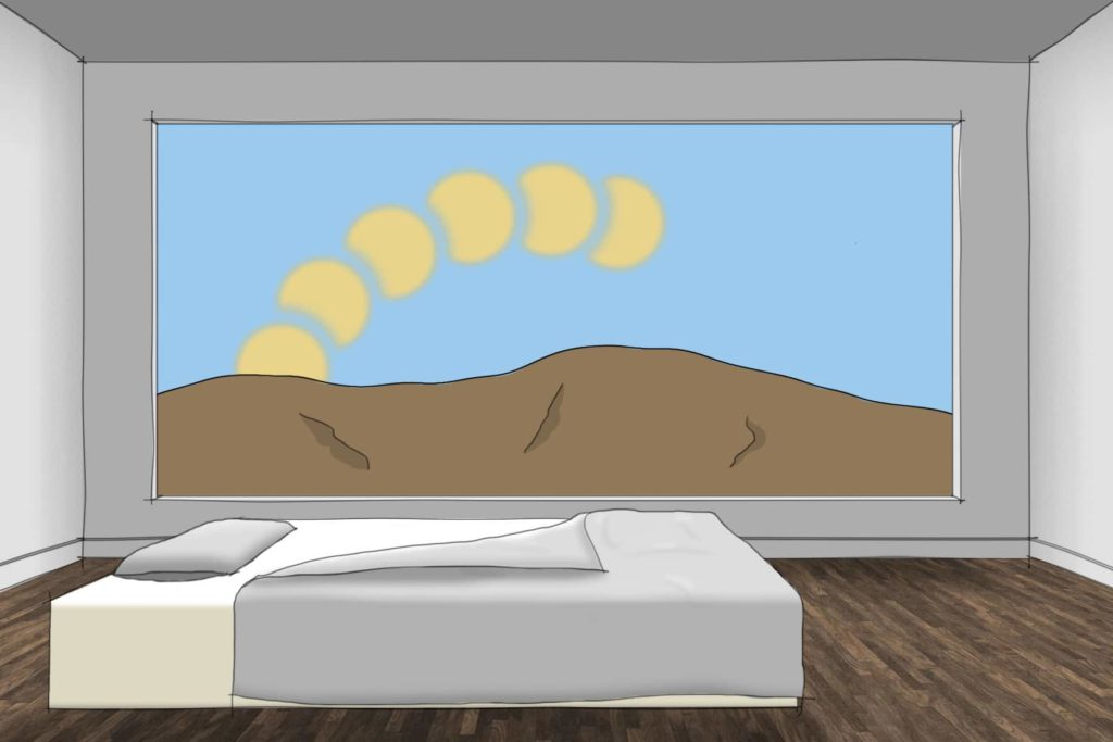 What slept in different countries