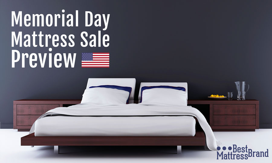 Memorial day mattress sales what you 39 ll find for 2018 for Best time for mattress sales