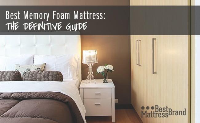 Best Memory Foam Mattress The Definitive Guide Best Mattress Brand